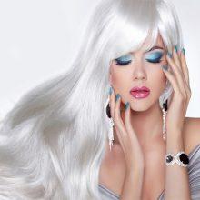 کاور موهای سفید