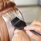 رنگ کردن ریشه موها