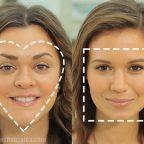 آرایش مناسب انواع فرم صورت