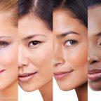 انواع رنگ پوست