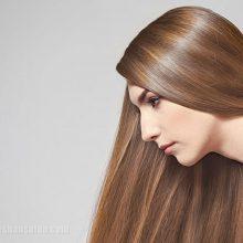آرایش مو با رنگ مو کاراملی