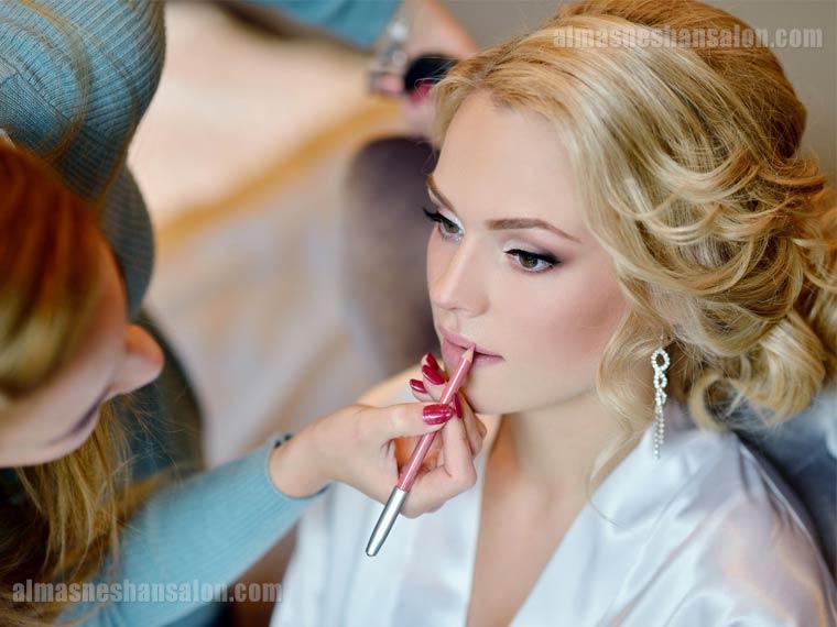 استایل آرایش عروس