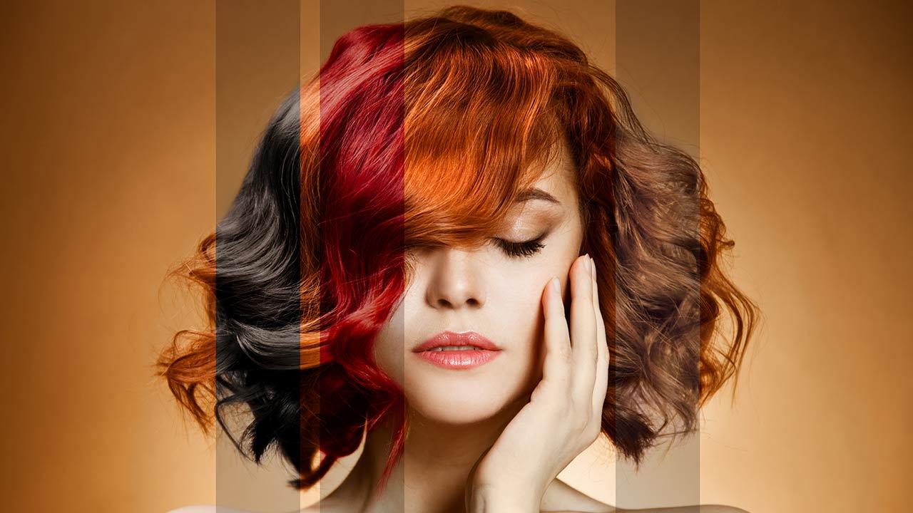 نوع رنگ مو و تاثیرش روی ماندگاری رنگ مو